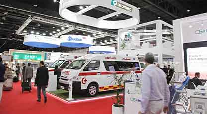 Modified-Vehicles-for-Ambulance-in-Arab-Health-Exhibition-2020
