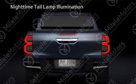 Toyota Hilux Restyling (2020) 10