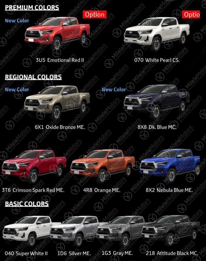 Toyota Hilux Restyling (2020) 12