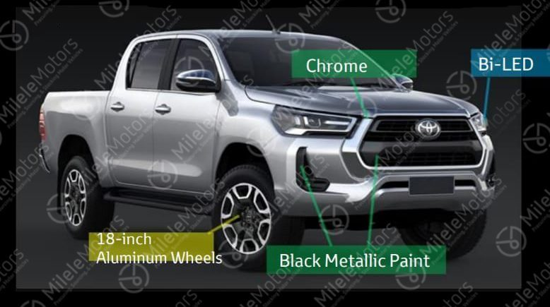 Toyota Hilux Restyling (2020) 7