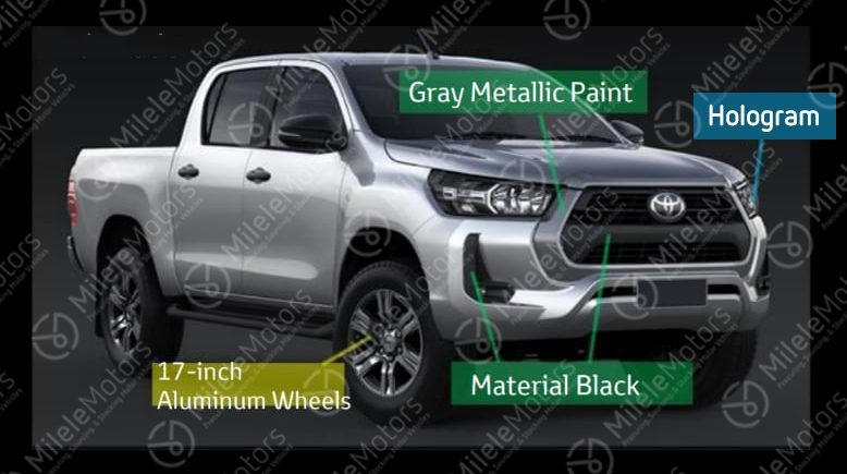 Toyota Hilux Restyling (2020) 9